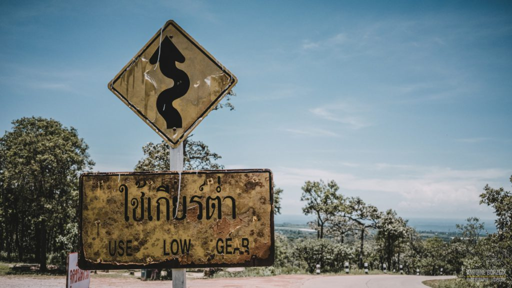 issan road thailand