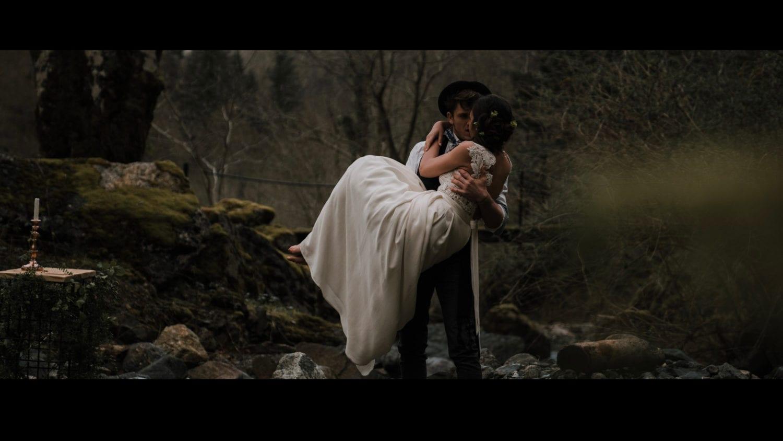 film de mariage pays basque bearn montagne nature pyrénées