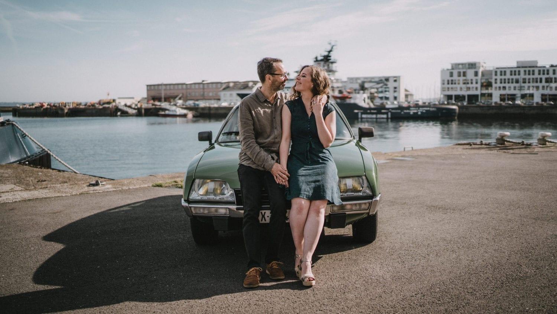 Photo de couple avant mariage brest
