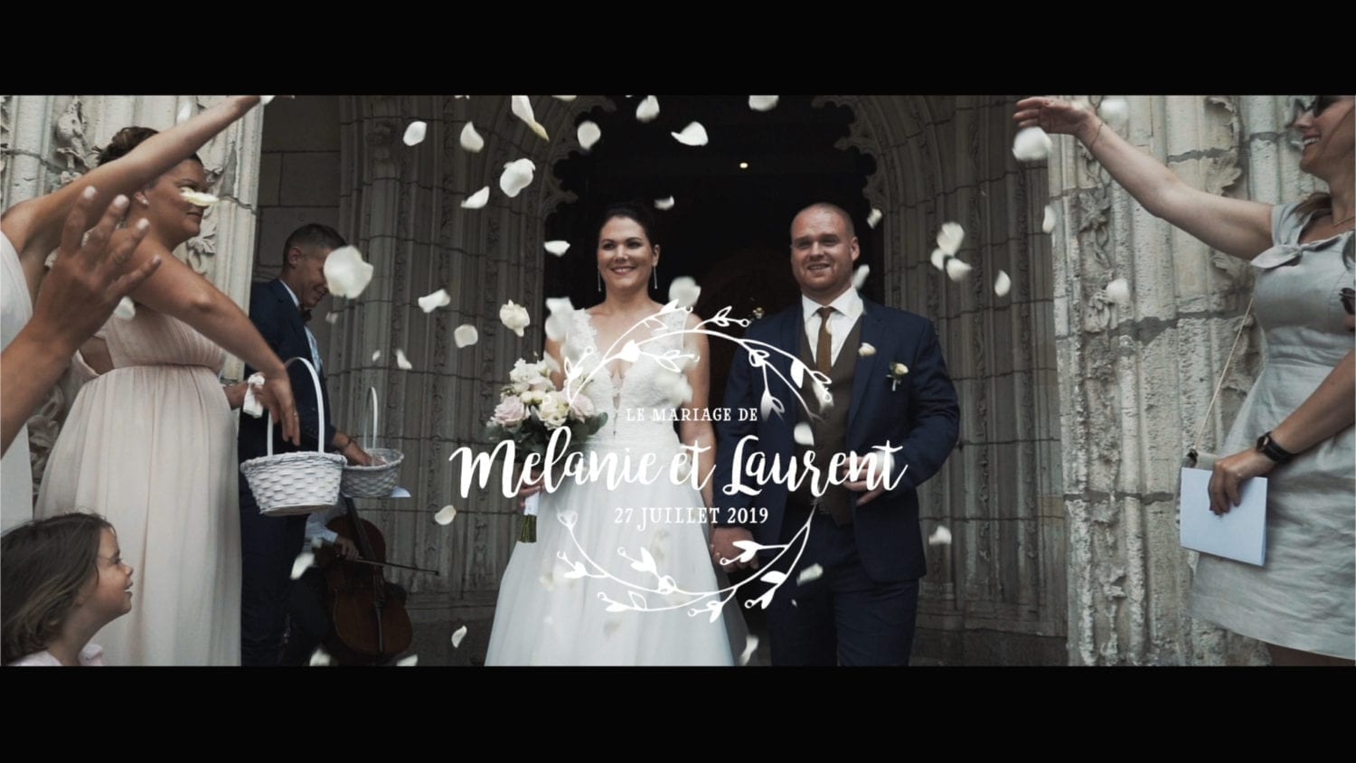 video photo de mariage Lanniron Quimper
