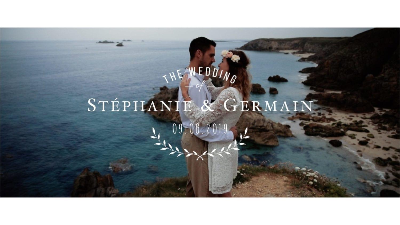 Photos de mariés en bord de mer à Brest