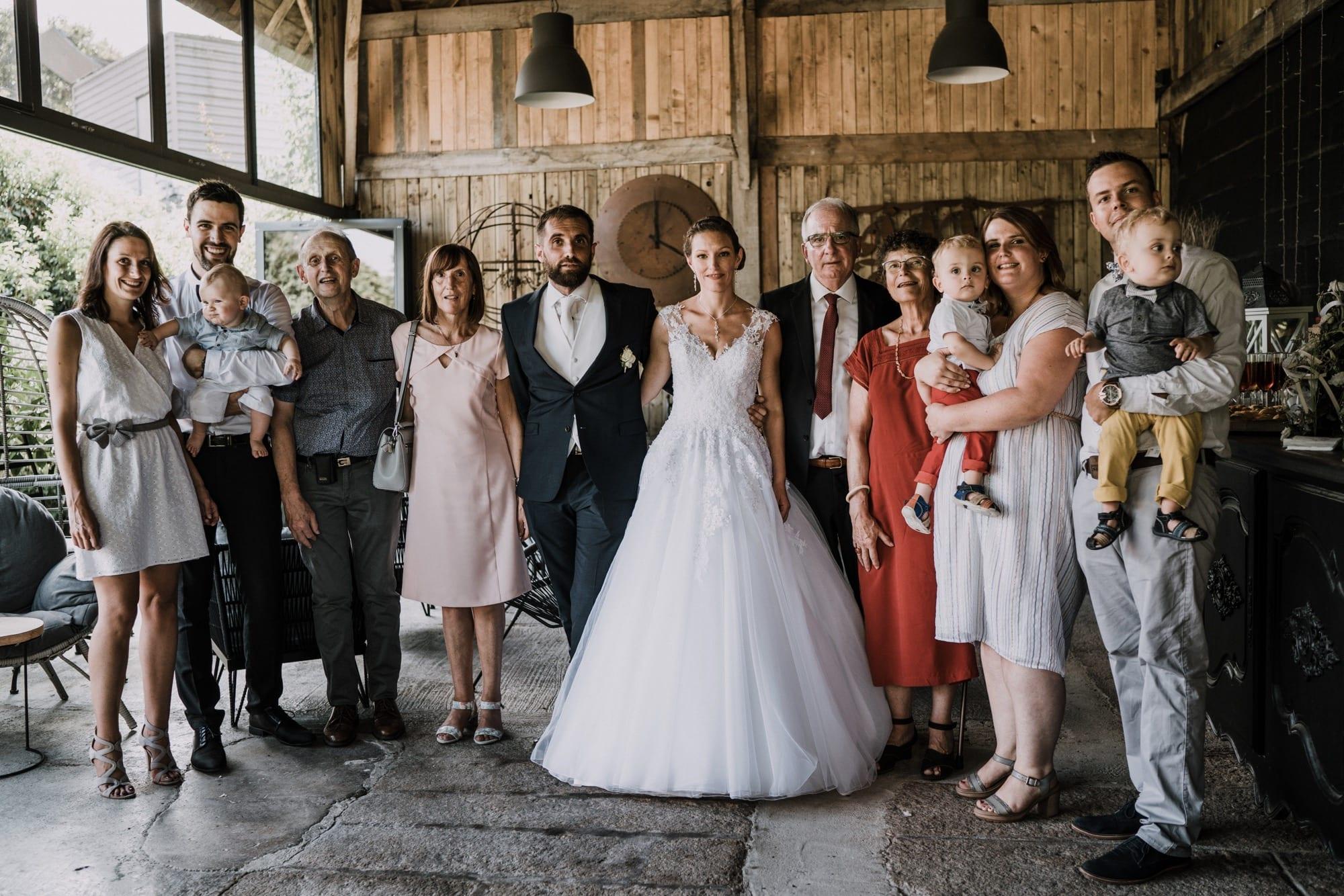 réception mariage cocktail ferme de roudouic concarneau