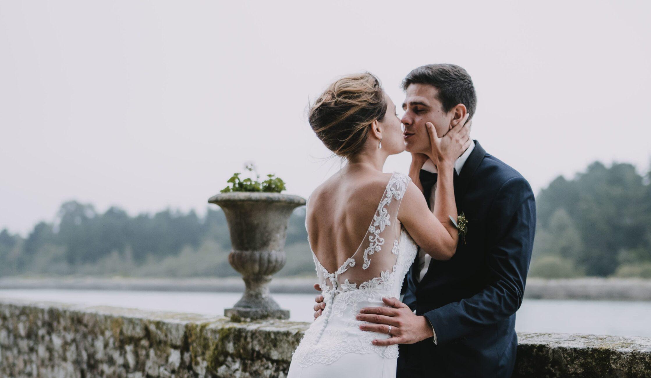 photo de mariage domaine de kerenez Loctudy