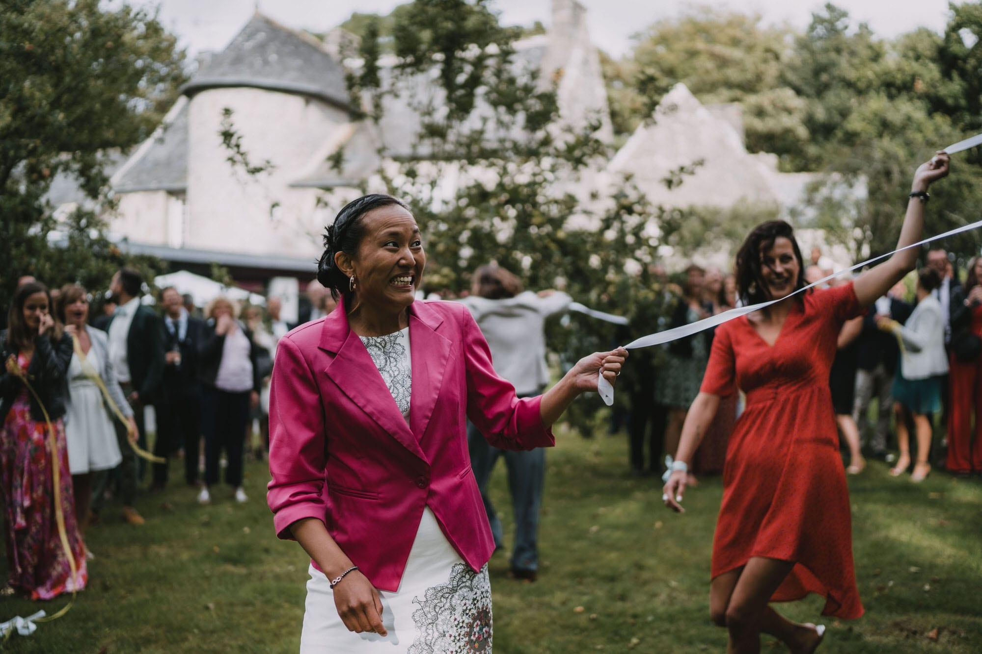 photo mariage domaine de Penfao