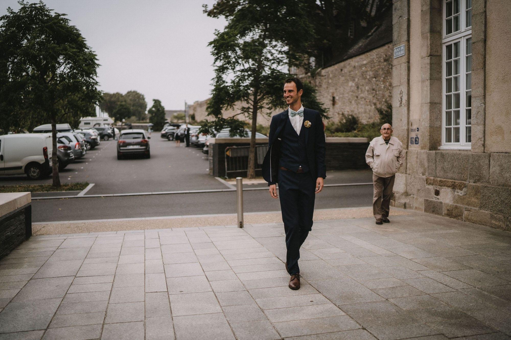 photo de mariage mairie st pol de léon