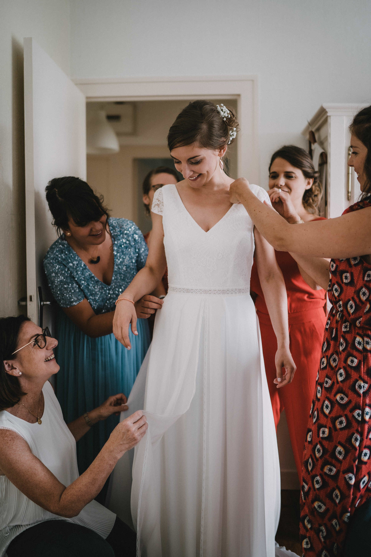 préparatifs des mariés mariage bretagne