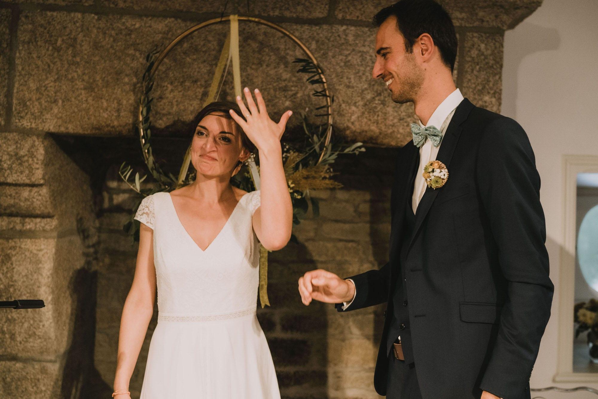 photo de mariage au domaine de penfao St Thégonnec