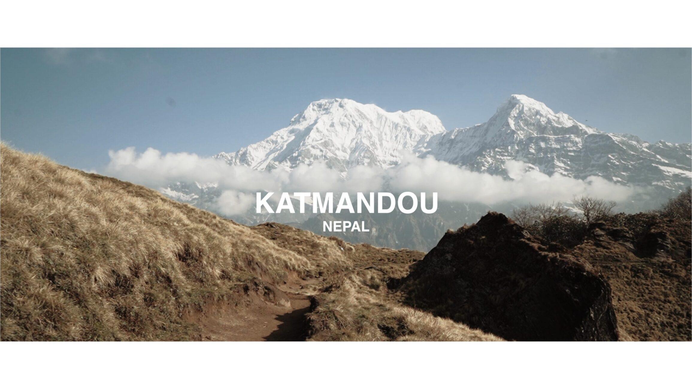 Vlog voyage trek Nepal montagne