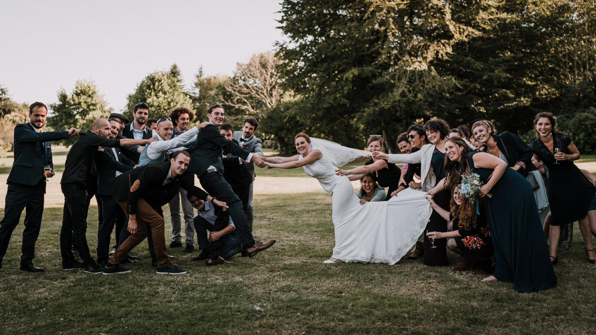 photo de mariage Manoir des Indes Quimper