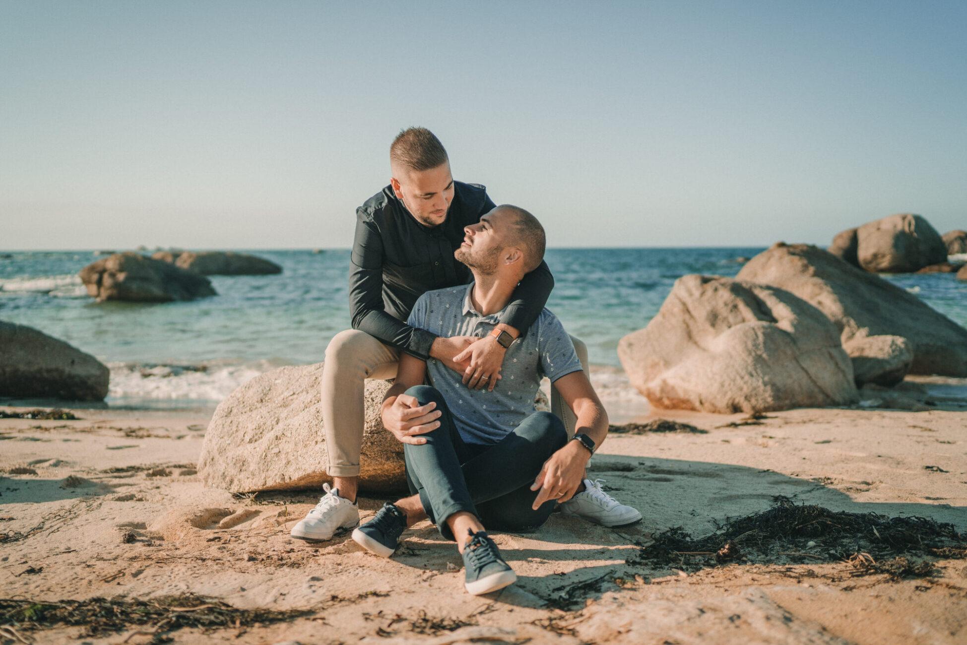 Photographe de mariage hotel de la mer brignogan