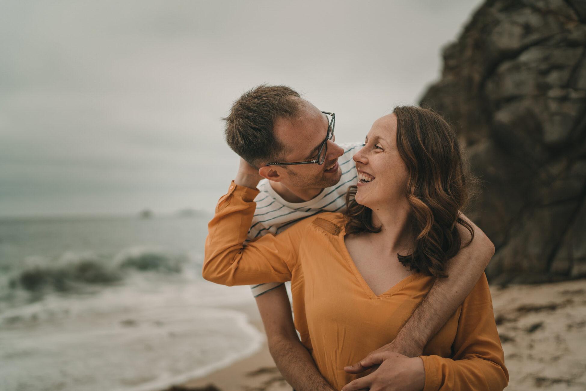 Séance photo de couple à Quimper