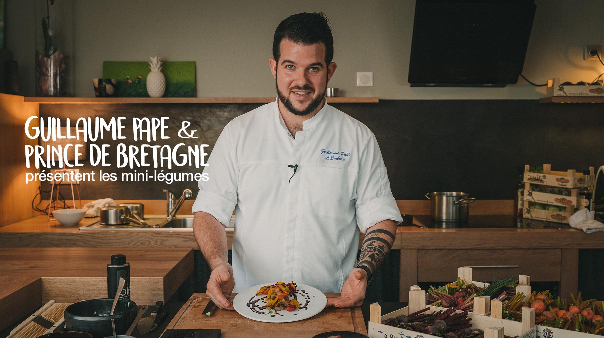 Guillaume Pape restaurant l'embrun Brest