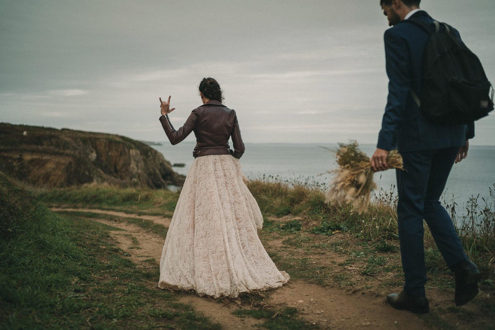 13028 Mariage Intime Élopement En Bord De Mer En Bretagne Rebecca Clement À Plougonvelin Www.antoineborzeix.fr , Photographe & Videaste à Brest / Finistère