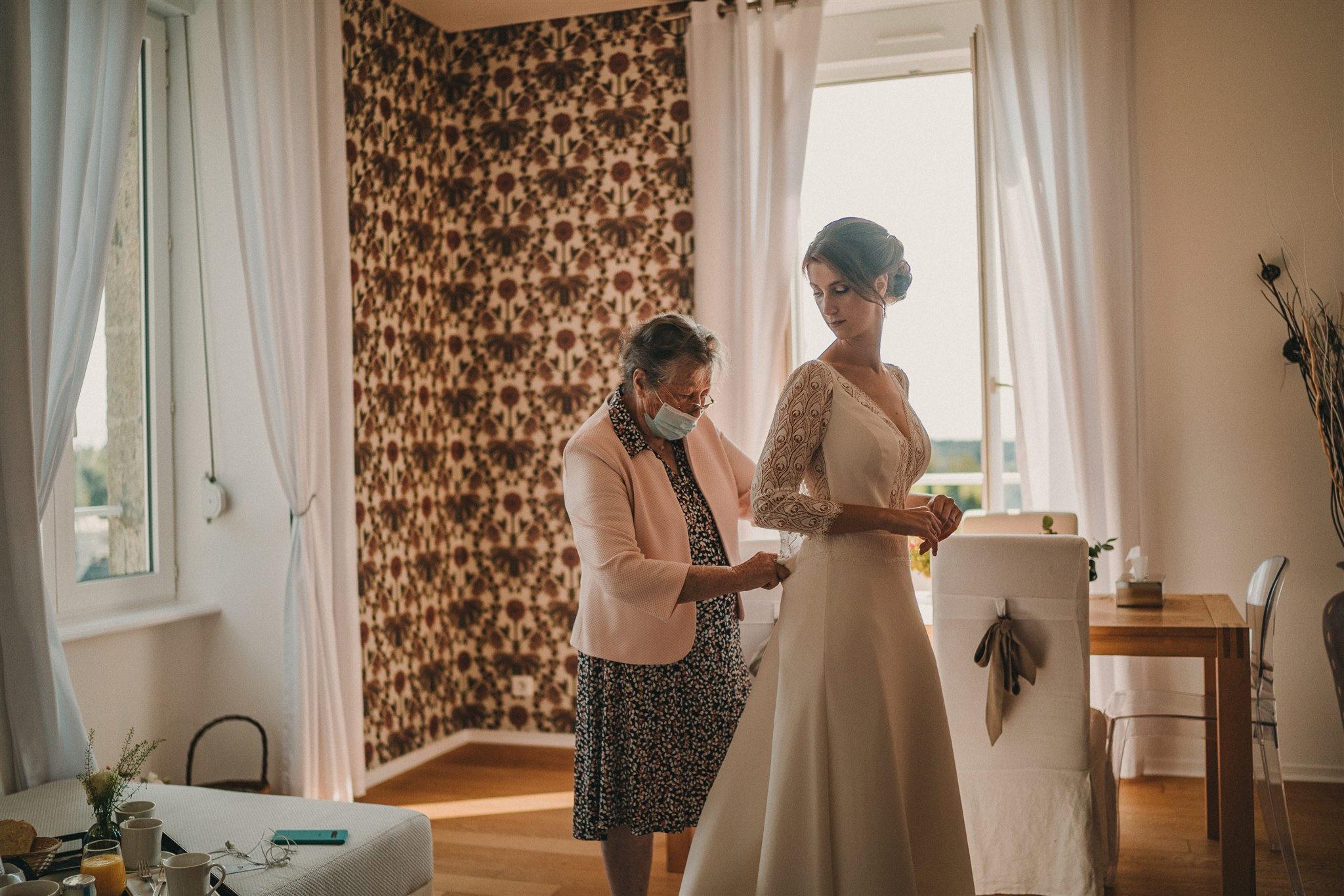 Elsa Yannick Photo De Mariage Au Manoir De Kerhuel À Plounéour Lanvern 20septembre12A7302145 Www.antoineborzeix.fr , Photographe & Videaste à Brest / Finistère