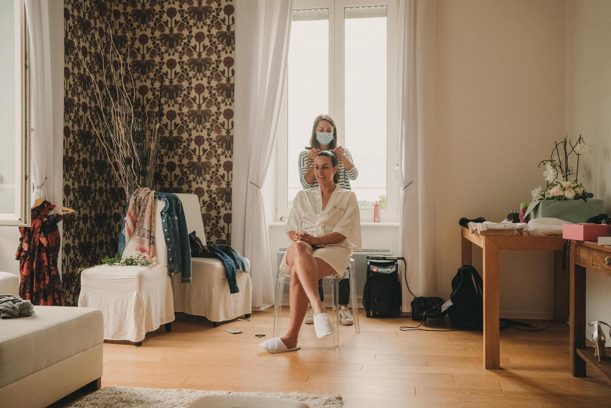 Photo De Mariage Au Manoir De Kerhuel A Plouneour Lanvern De Perle Danilson Par Antoine Borzeix 21, Photographe & Videaste à Brest / Finistère